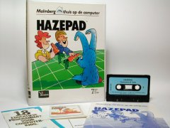 Commodore C64 game (cassette): Hazepad