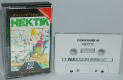 Commodore C64 game (cassette): Hektik