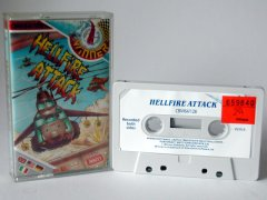 Commodore C64 game (cassette): Hellfire Attack