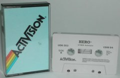 Commodore C64 game (cassette): HERO