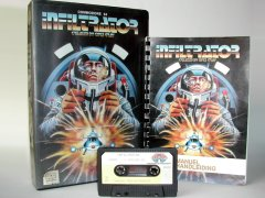 Commodore C64 game (cassette): Infiltrator