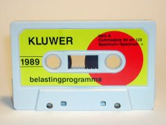 Kluwer belastingprogramma 1989.