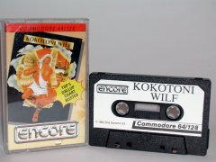 Commodore C64 game (cassette): Kokotoni Wilf