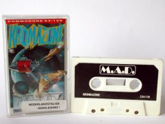 Commodore C64 game (cassette): Kromazone
