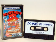 Commodore C64 game (cassette): Mr. Wimpy