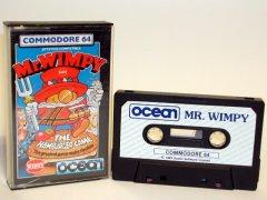 Commodore C64 game (cassette): Mr. Wimpy