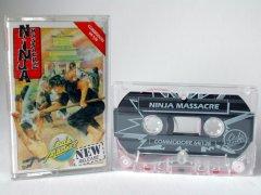 Commodore C64 game (cassette): Ninja Massacre