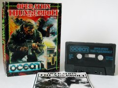Commodore C64 game (cassette): Operation Thunderbolt