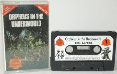 Commodore C64 game (cassette): Orpheus in the underworld