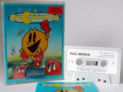 Commodore C64 game (cassette): Pac Mania