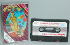 Commodore C64 game (cassette): Pogo Stick Olympics