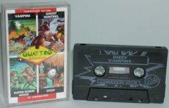 Commodore C64 game (cassette): Quatro Adventure
