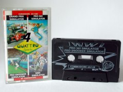 Commodore C64 game (cassette): Quatro  Sports