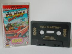 Commodore C64 game (cassette): Road Blasters