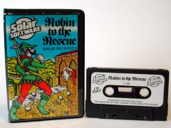 Commodore C16, C116, Plus/4 game (cassette): Robin to the Rescue