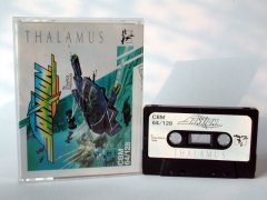 Commodore C64 game (cassette): Sanxion