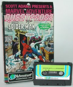 Commodore C16, C116, Plus/4 game (cassette): Questprobe featuring Spiderman
