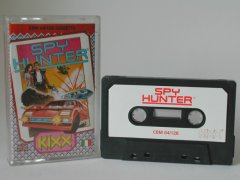 Commodore C64 game (cassette): Spy Hunter