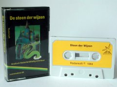 Commodore C64 game (cassette): De steen der wijzen