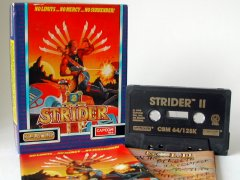 Commodore C64 game (cassette): Strider II