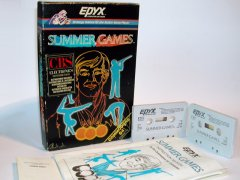 Commodore C64 game (cassette): Summergames
