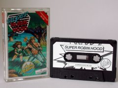Commodore C64 game (cassette): Super Robin Hood