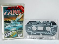 Commodore C64 game (cassette): Super Tank