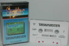 Commodore C64 game (cassette): Taskmaster