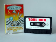 Commodore C64 utility (cassette): Toolbox - Shoot'em-Up Construction Kit