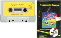 Commodore C64 game (cassette): Topografie Europa