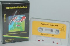 Commodore C64 game (cassette): Topografie Nederland