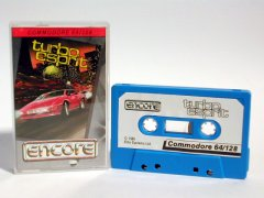 Commodore C64 game (cassette): Turbo Esprit