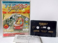 Commodore C64 game (cassette): Turbo Outrun