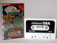 Commodore C64 game (cassette): Las Vegas Video Poker
