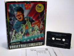 Commodore C64 game (cassette): Volleyball Simulator