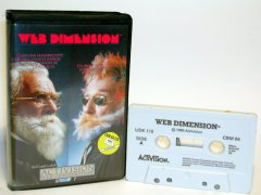 Commodore C64 game (cassette): Web Dimension