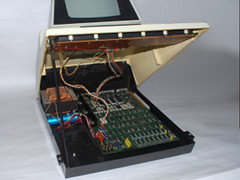 Inside of the Commodore PET 2001-N computer.