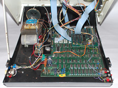 Inside of the Commodore CBM 3016 computer.