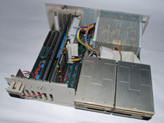 Inside of the Amiga 2000 HD computer.