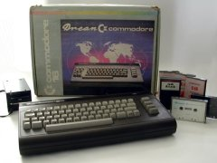 Commodore C16 - Drean (Argentina), with original packaging.
