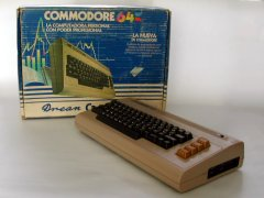 Commodore C64 - Drean (Argentina), original packaging.
