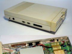 Modified Commodore 1571 disk drive.