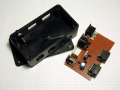The PCB of the C64 DTV-2 expanderbox.