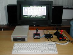 Testing the C64 DTV-2.