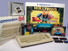 Commodore C64c - Hollywood