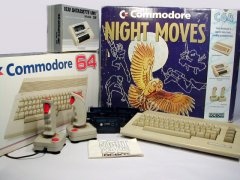 Commodore C64c - Night Moves