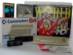 Commodore C64c - World Cup Football