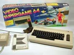 Commodore C64g, original packaging.