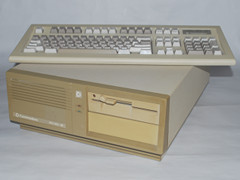 Commodore PC-20, my first PC
