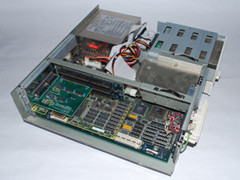 Inside of the Commodore 286SX-16 computer.